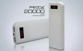 Повербанк power bank Proda  20000mah белый