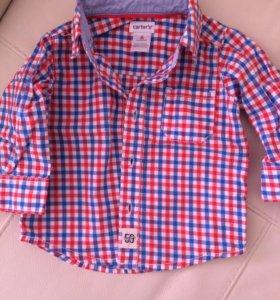 Рубашка новая carters