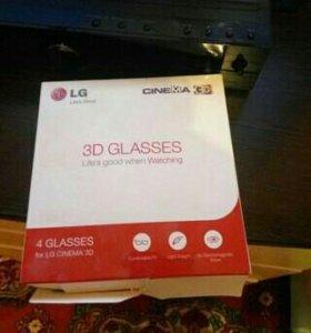 Очки 3D пара для телевизоров. LG cinema AG-F310
