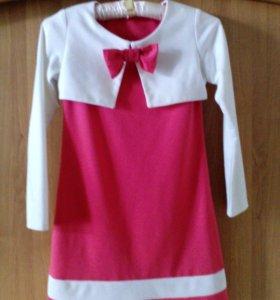 Платье на худенькую девочку 8-10 лет