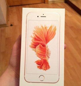 Коробка от айфона 6s Rose Gold