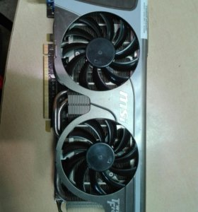 Видеокарта msi n560 gtx ti twin frozr 2g