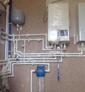 Водоснабжение, отопление под ключ