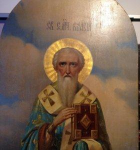 Очень редкая икона Святого Власия Священномученика