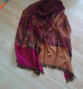 Палантин , и лёгкий шарф