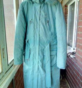 Зимнее пальто р-р 48