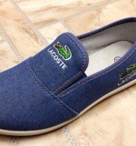 Тапочки джинс новые