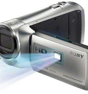 Камера с проектором sony hdr pj240