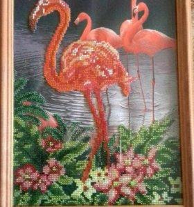 Картины (вышивка из бисера)