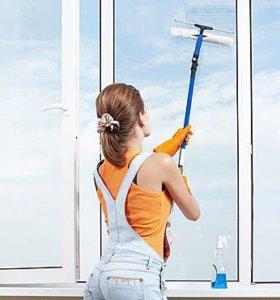 Мытьё окон, балконов