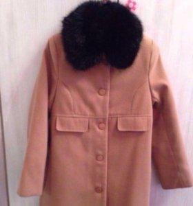 Пальто, рост 140
