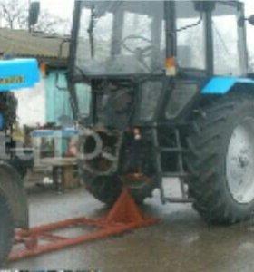 Раскатка трактора