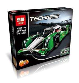 Конструктор гоночный автомобиль 2в1