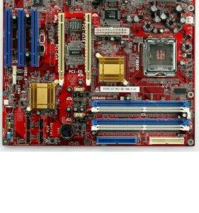 Материнская плата ddr1+ 1 ГБ оперативной памяти