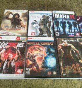 Игры PSone,PS2,Xbox 360