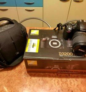 Nikon d3200 body + AF-S Nikkor 18-105 VR