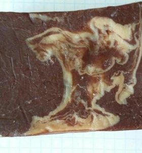 Мыло ручной работы с ароматом шоколада