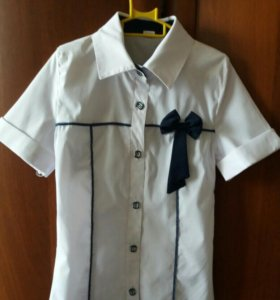 Школьная блузка б/у