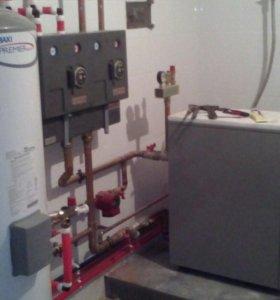 Отопление водопровод канализация.