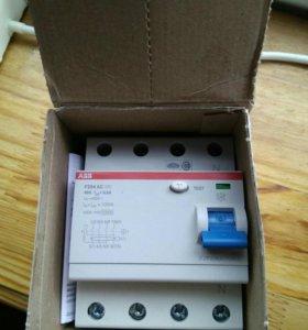УЗО ABB 80 А 300 мА автоматической выключатель