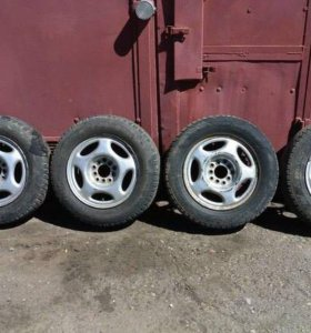 Комплект колес R14 Hankook 5х100 5х114