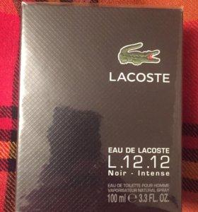 Туалетная вода духи Lacoste eau de l. 12. 12 Noir
