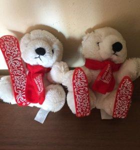 олимпийские мишки два за 500 руб