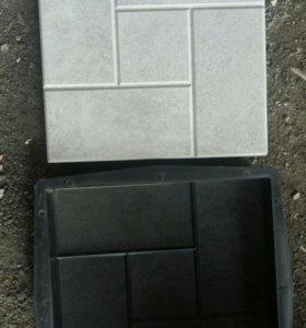 Формы для плитки калифорния,ромашка,колотый камень