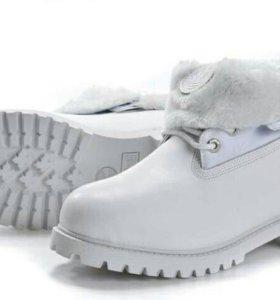 Ботинки зимние новые из нубука