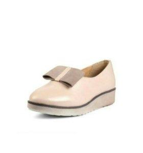 Туфли ( лоферы) кожа, новые