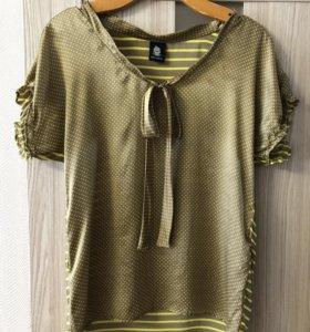 Шелковая блузка Marina Yachting
