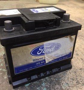 Аккумулятор varta silver Calcium 12V 43Ah 390A.