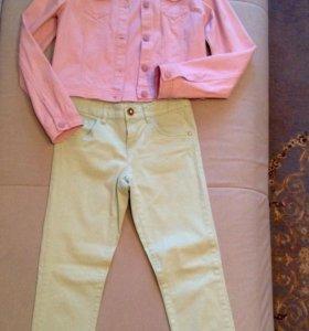 Куртка, брюки на девочку рост 152