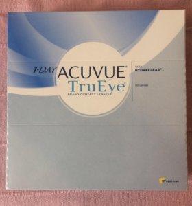 Одноднев. линзы Acuvue 1-Day True Eye -3.00