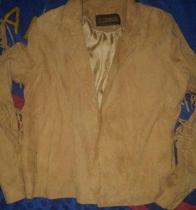 кожаная куртка uterque