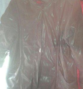 Продам куртку б.у зимнюю большого размера