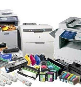 Ремонт принтеров. Заправка картриджей