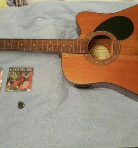 Новая гитара Greg Bennett D1CE+2 пачки струн+чехол