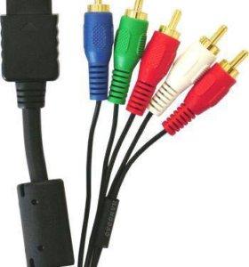 компонентный кабель для Sony PlayStation 2,PS3