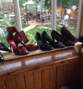 Женские туфли, набор из 5 пар - 100 рублей(вместе)