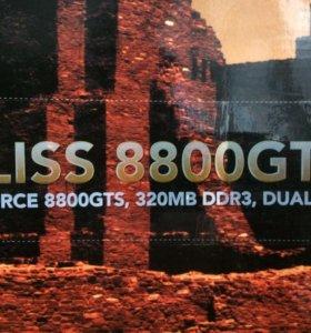 Видеокарта на пк GeForce 8800 GTS