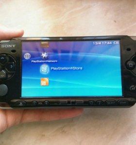 PSP 3008 с чехлом