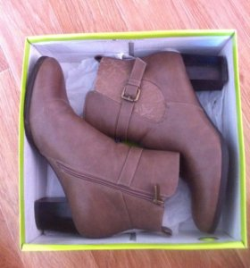 Женские ботинки осень. Кор