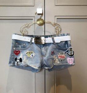 Новые Шерты джинсовые