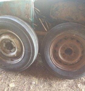 Колеса с сельхоз машины R16