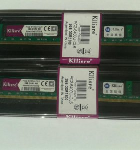 DDR2 2Gb 800 (Новые)