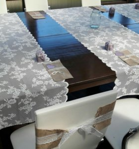 Конверты для столовых приборов из мешковины
