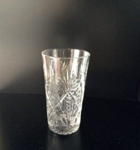 Хрустальные стаканы СССР 7 шт