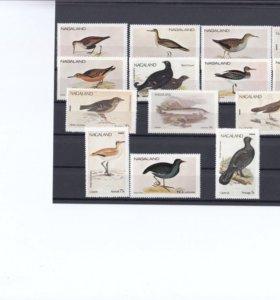 Марки фауна птицы