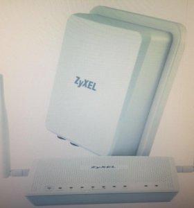 Модем Zyxel LTE6101 уличный 4G LTE 802.11n 300 Mби